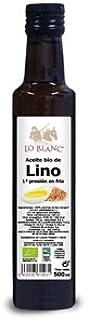 ACEITE DE LINO DORADO BIO LO BLANC - 500 ml