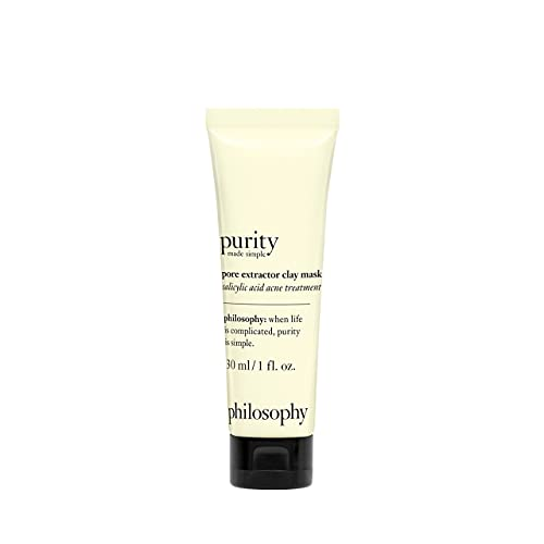Purity Made Simple Pore Extractor Exfoliating Clay Mask by Philosophy for Unisex - 1 oz Mask
