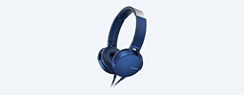 Sony MDR-XB550AP Kopfhörer (Extrabass, Headset mit Mikrofon) blau