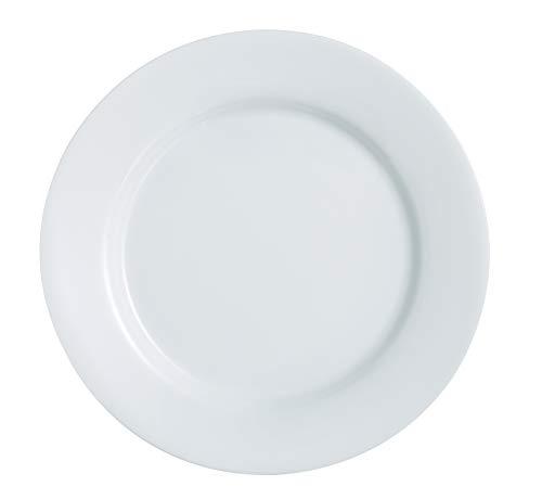 Luminarc Everyday 10.5' Dinner Plate, Set of 6, Set, 1, White