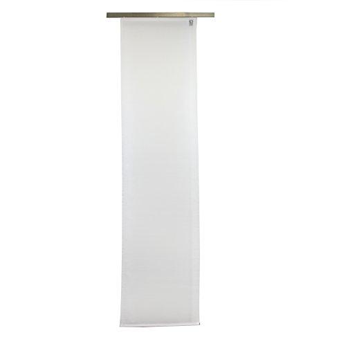 Gözze Schiebevorhang, Blickdicht, 60 x 245 cm, Suez, Weiß, 66026-00-6045