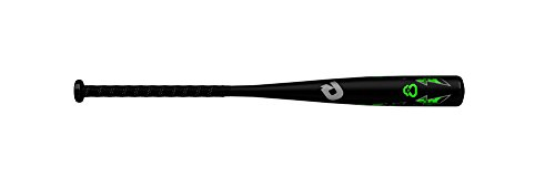 DeMarini 2019 Uprising Junior Big Barrel (-10) 2 3/4' Senior League Baseball Bat, 27'/17 oz