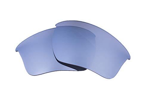 LenzFlip Oakley HALF JACKET 2.0 XL 交換レンズ マルチオプション (偏光グレーw/シルバーミラー)