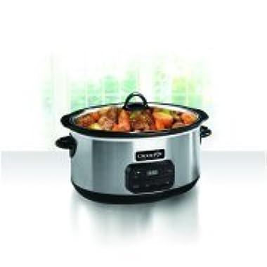 Crock-Pot 8-Quart Programmable Slow Cooker, SCCPVZ800-S