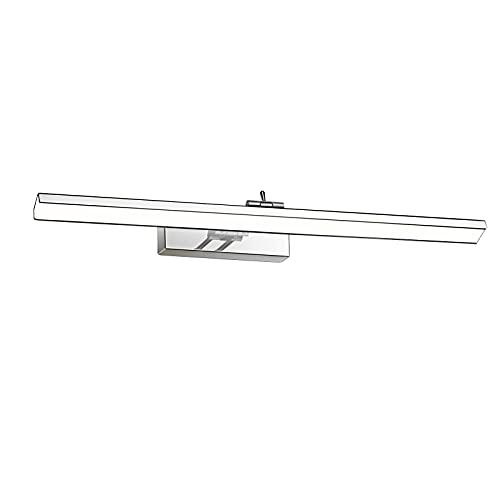 Wowatt Lámpara de Espejo LED 12W 960LM Aplique Espejo Baño 220V 49cm...
