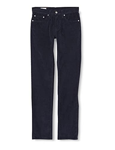 Levi's 511 Slim Jeans, Nightwatch Blue STR 14W Cord GD, 29W / 32L Uomo