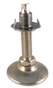T-Nut Leg Leveler (Set of 4), Adjustable Leveling Feet for Furniture, Tables, Workbenches, 500 lb. Load Capacity