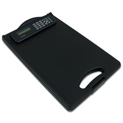 RoadPro RPO-01259S Mobile Desk Storage Clipboard with Calculator
