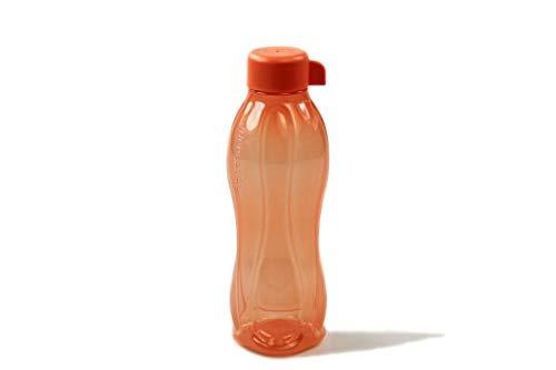 Tupperware Eco-acqua succo bottiglia (1) Eco Easy LACHS-ROT 500 ml EcoEasy