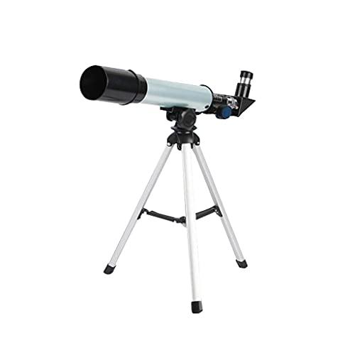 XJJZS Telescopio Monocular Astronómico para Niños Microscopio Combo con Soporte Trípode Lente Objetivo Grande