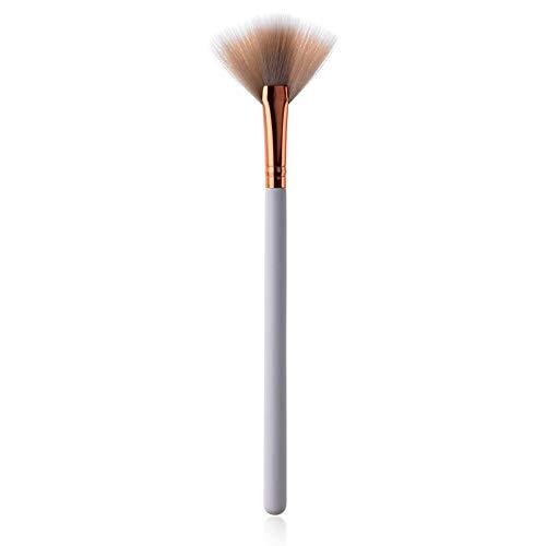 LEEYYO Make-up-Pinsel-Set mit weißem Griff, nicht reizend, synthetisches Material, Gesichtsmake-up-Pinsel, 1 Stück