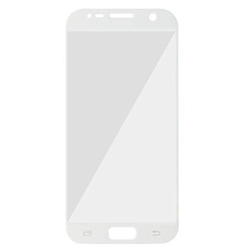Movilrey Protector para Samsung Galaxy S7 Blanco Completo 3D Cristal Templado de...