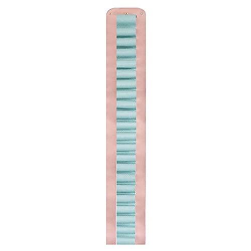 Porte-rouleau en vinyle avec 22 compartiments avec crochets et vis Support de rangement pour rouleau de vinyle Support mural au dessus porte Support rangement vinyle Rangement organisateur suspendu