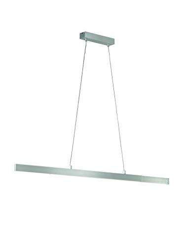 Fischer&Honsel Orell Pendelleuchte, Metall, 24 W, aluminiumfarben