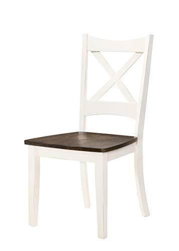 Lane Home Furnishings 5115-52-2 Lexington 2-Pack Dining Chair, White