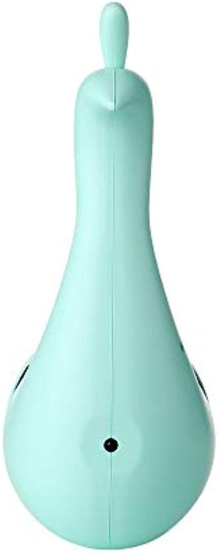 Skoy iyue Bunte Fernsteuerungsnachtlichtausgangsusb-Regenbogendekoration Der LED-Wandleuchtepfau-Projektion,Blau-7.8  19cm