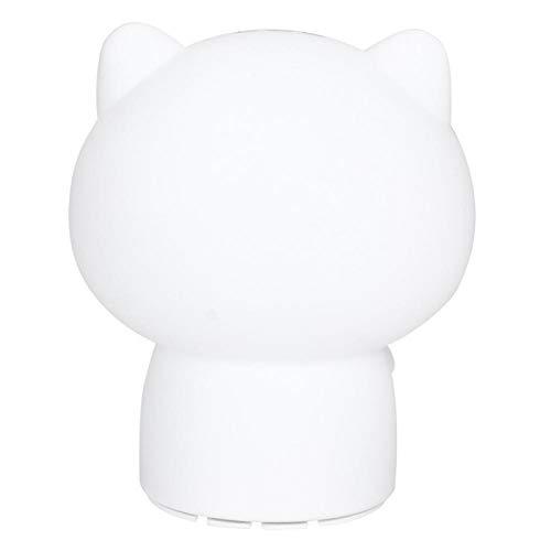 Cuque Luz de Noche LED, luz de Lectura, Mini Sala de Estar con Forma de Gatito, baño, Dormitorio para Leer(Blue)
