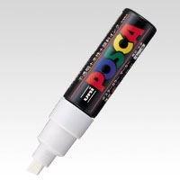 三菱鉛筆 ポスカ PC-8K 白 1 PC8K.1 00023579【まとめ買い10本セット】