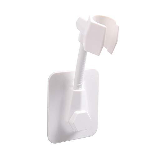 SPRINGWT Base de ducha con perforación, ángulo ajustable, soporte de ducha tipo ventosa para baño en casa y hotel, etc. Práctico de usar.