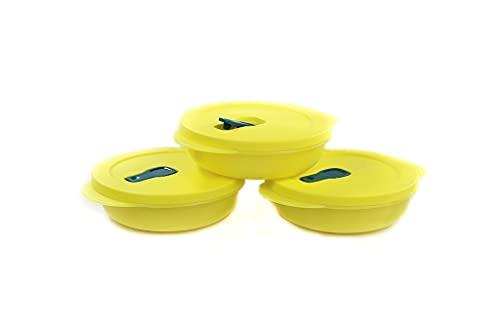 Tupperware - Microonde CrystalWave Plus Fix 400 ml (3) giallo