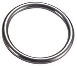 """Stainless Steel Round Welded Metal O Ring 3/8"""" x2-5/8"""