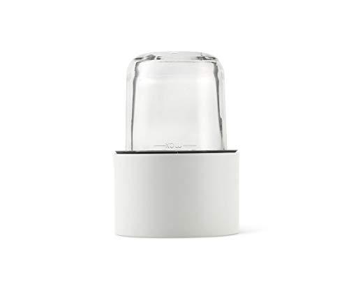 Kenwood Kräuter- und Gewürzmühle AT320, Zubehör für Kenwood Küchenmaschinen, elektrische Kräutermühle für frische und getrocknete Kräuter und Gewürze, inkl. 4 Glasbehälter mit Deckel