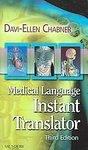 Medical Language Instant Translator: Davi-Ellen Chabner (Paperback, 2007)