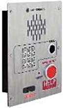 GAI-Tronics - 398-004RT - Emergency Telephone Single-Button Auto-Dial with CALL Pushbutton and Keypad Flush-Mount with Voice Annunciation and Extreme Cold Weather Options (to -40 C) 120V ac Required