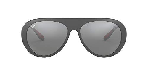 Ray-Ban 0RB4310M Gafas de sol, Matte Grey, 58 para Hombre