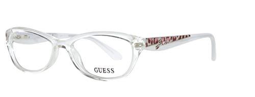 Guess Brille GU2326 52G53 Montature, Trasparente (Transparent), 52 Donna