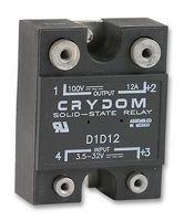 CRYDOM - D1D12 - SSR, PANEL MOUNT, 100VDC, 32VDC, 12A