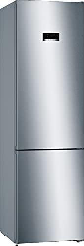Bosch Elettrodomestici KGN393IDB Serie 4, Frigo-congelatore combinato da libero posizionamento, 203 x 60 cm, inox-easyclean