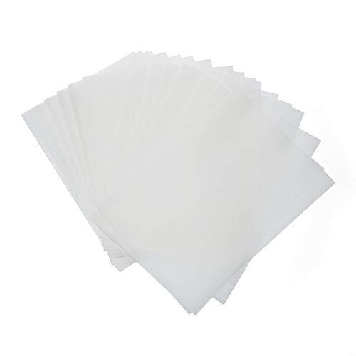 Transparentpapier 210 * 297 cm, 73 g/qm, 50 Blatt Schwefelsäure-Papier verdicken Transparente Pauspapier Platte Übertragung Malen Künstlerpapier Zeichenpapier Bastelpapier Designpapier