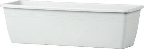 Teraplast 01004050022 Jardinière 50 x 17 x 30 cm Blanc