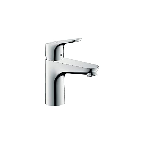 Product Image of the hansgrohe Focus Modern Upgrade Easy Clean 1-Handle 1 7-inch Tall Bathroom Sink Faucet in Chrome, 04371000