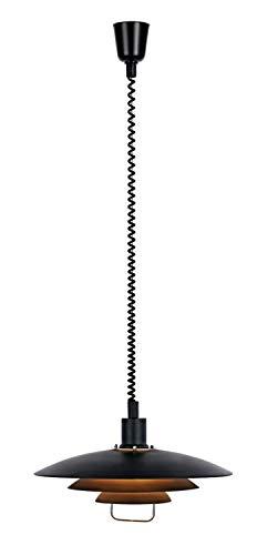 Markslöjd Höhenverstellbare Pendelleuchte, Metall, E27, schwarz, 0 x 0 x 26 cm
