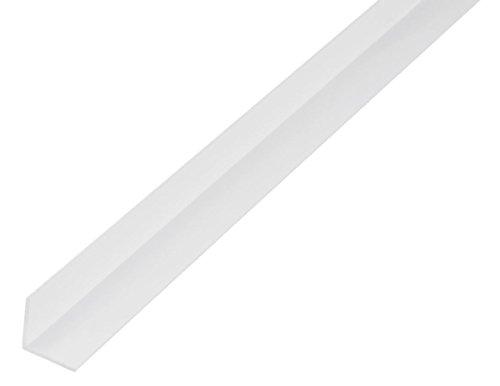 GAH-Alberts 485054 Winkelprofil-Kunststoff, weiß, 1000 x 30 x 30 mm