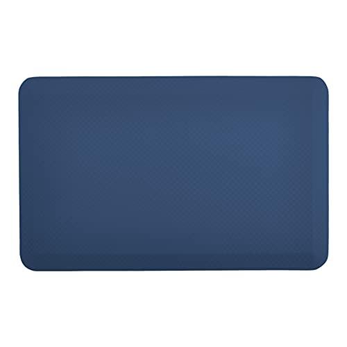 Amazon Commercial - Esterilla antifatiga, cómoda y ergonómica para estar de pie, 1,9cm de grosor, 50,8x 81,2cm, color azul marino