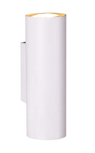 Trio Leuchten 212400201 - Lampada da parete Marley, in metallo bianco opaco, non inclusa 1 x GU10
