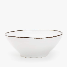 SALAD BOWL WITH CONTRASTING EDGE - SERVING DISHES - KITCHEN & DINING | Zara Home United States of America