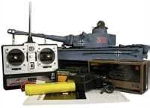 Panzer HL Tiger I M 1 16 Grau mit Rauch und Sound by Amewi