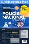 Paquete Ahorro BÁSICO Escala Básica Policía Nacional 2020. (Temario 1, 2 y 3; Test 1 y 2; Simulacros 1, 2 y 3; y acceso gratis a Curso Oro)