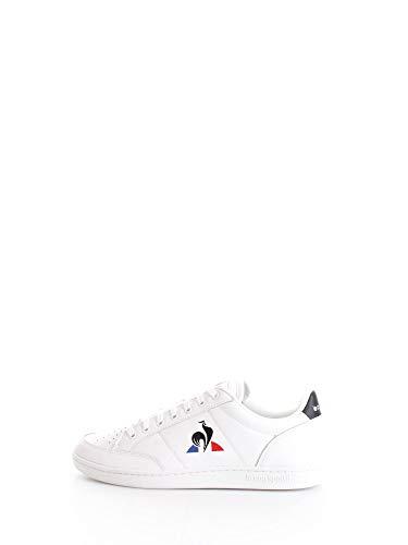 Le Coq Sportif Herren Court Clay Sneaker, Optisch Weiß/Schwarz, 40 EU