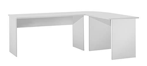 FMD Till Winkelkombination Till B/H/T 205.0 x 76.0 x 155.0 cm, weiß