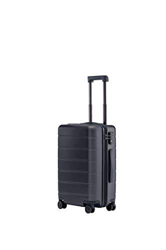 """Xiaomi Trolley Bagaglio a Mano con 8 Ruote, 55 cm, 20"""", Dimensioni Standard per Cabina Aereo, Lucchetto TSA, 38 litri, Nero"""