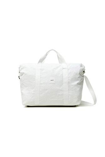 Desigual Woven Luggage, para Viajes. para Mujer, Blanco, Medium