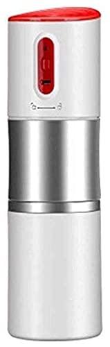 Ekspres do kawy Przenośny ekspres do kawy na zewnątrz samochodu 1 szt. Mini automatyczny ekspres do kawy Akumulator (kolor: biały)