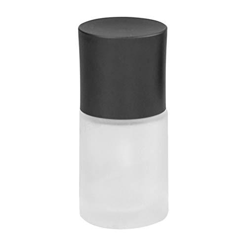 GROOMY Botella de loción, 30ml Botella de loción de Esencia de Vidrio Vacío DIY Envase de cosméticos Dispensador de líquido