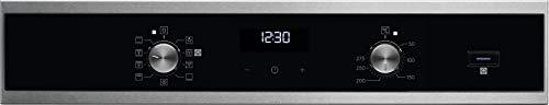 Electrolux EOD5H40X - Horno eléctrico empotrable, capacidad 72 L, multifunción, ventilado, cocción y limpieza a vapor, potencia 2980 W, inoxidable