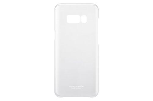 Samsung EF-QG955CSEGWW Clear Cover (geeignet für Samsung Galaxy S8+) silber